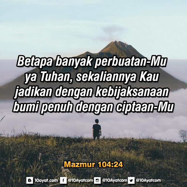 Mazmur 104:24