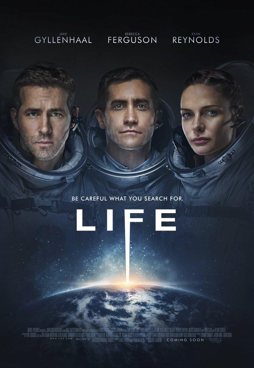 life film recenzja jake gyllenhaal rebecca ferguson ryan reynolds