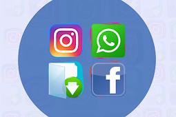 Satu aplikasi multi fungsi Facebook, Instagram, WhatsApp downloader