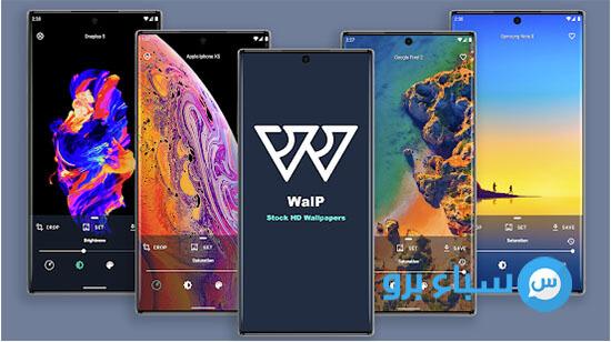 تطبيق Walp لتحميل خلفيات الهواتف المشهورة