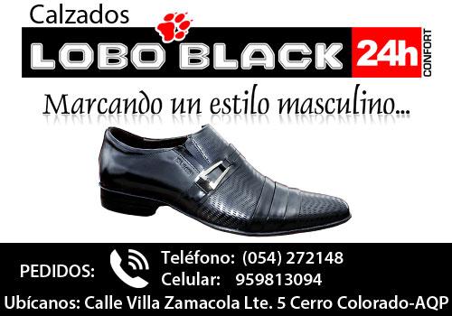 Calzados Lobo Black