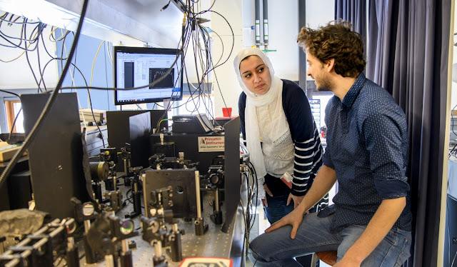مجلة Physics World تختار مشروع للباحثة الهام فضالي كأفضل إنجاز في مجال الفيزياء لعام ٢٠٢٠