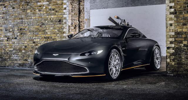 007最新作「ノー・タイム・トゥ・ダイ」をモチーフにしたアストンマーティンの限定車「007エディション」が登場!