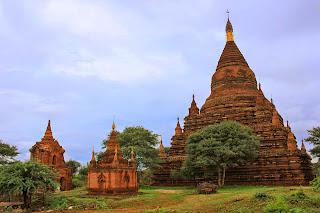 Estupas en Bagan - Myanmar