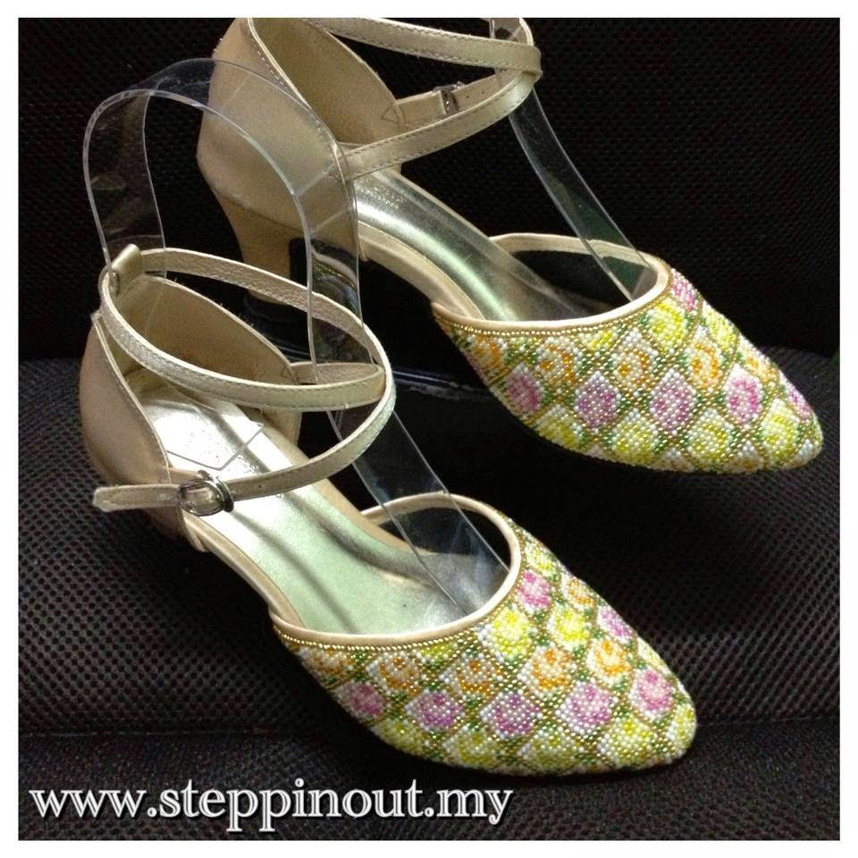STEPPIN' OUT Nyonya Beaded Shoes