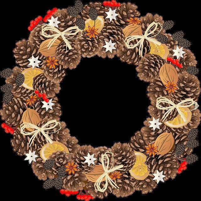 free printable download christmas wreath