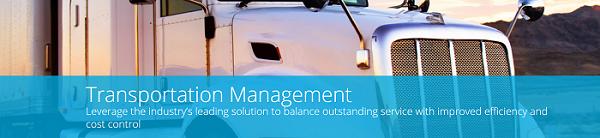 JDA Transportation Management Software