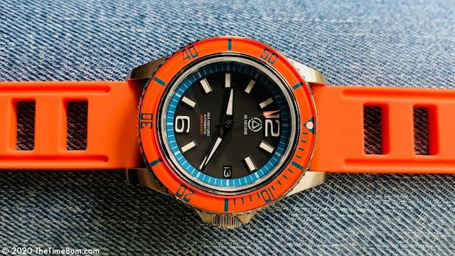 Seaborne Sea Venture Sunrise Orange silicone