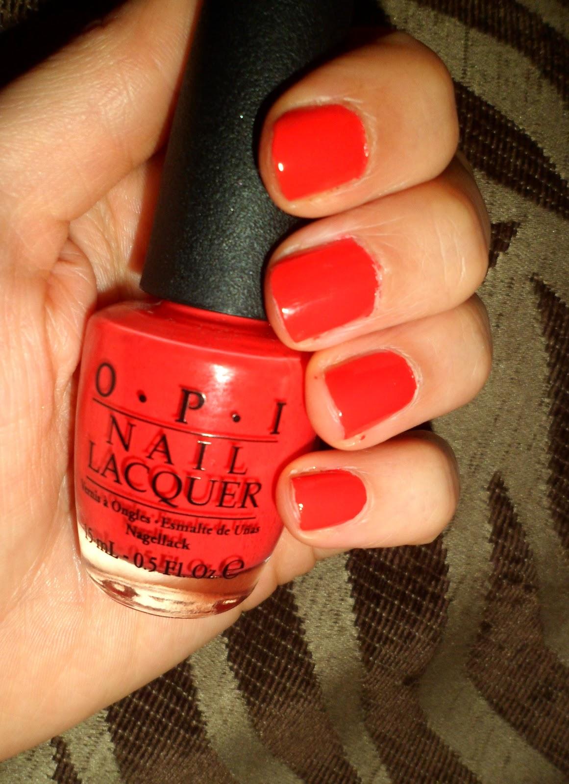 Beautiful Me Plus You Opi Cajun Shrim Nail Polish