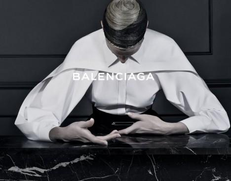 Alexander Wang's First Ad Campaign for Balenciaga Fall 2013