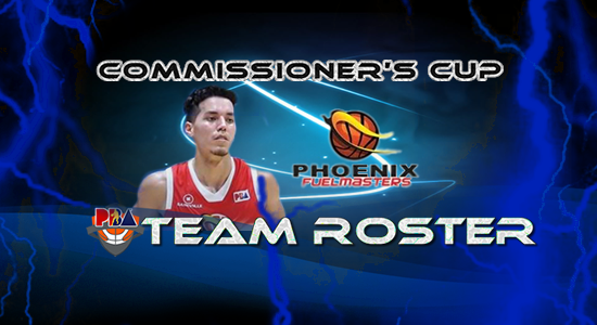 List of Phoenix Fuelmasters Roster (Lineup) 2017 PBA Commissioner's Cup