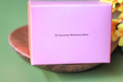 dear me beauty 30 second meatlaway balm peach