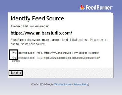 Cara mudah dan lengkap Membuat RSS Feed blog di feedburner - seo Terbaru | anibarstudio.com