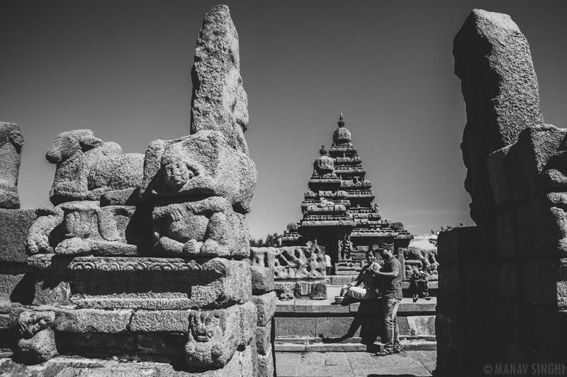 Shore Temple at Mahabalipuram - 1-Oct-2019