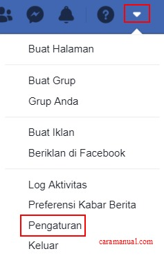 Pengaturan Facebook