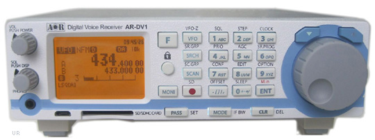 Upstate NY HAM Radio News & Information: AOR AR-DV1 Receiver