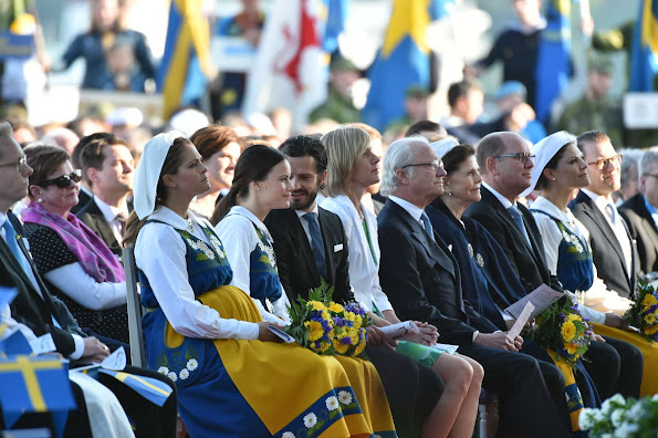 King Carl Gustaf and Queen Silvia of Sweden, Crown Princess Victoria and Prince Daniel, Prince Carl Philip and Sofia Hellqvist, Princess Madeleine