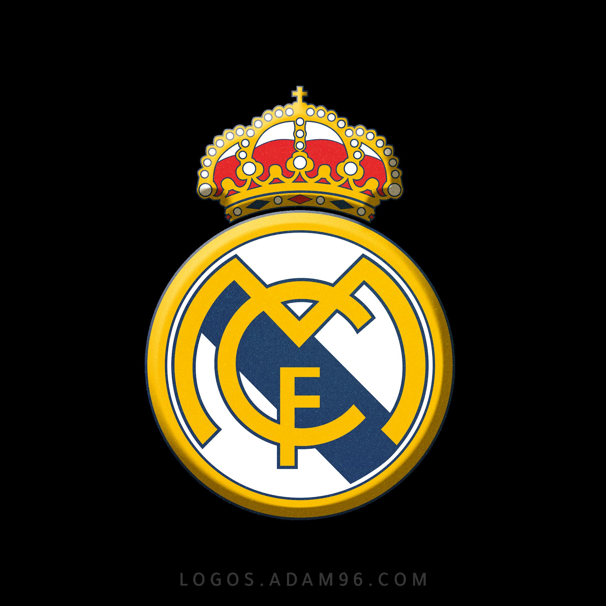 تحميل شعار نادي ريال مدريد لوجو شفاف Logo Real Madrid PNG
