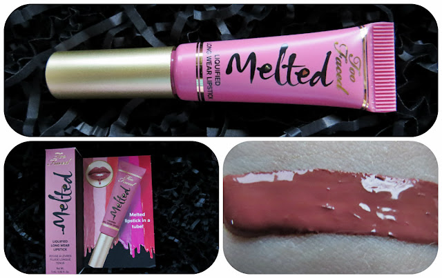 Too Faced Melted Liquefied Long Wear Lipstick in Chihuahua