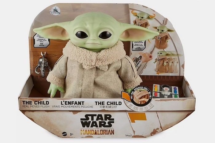 Remote Control Baby Yoda Hover Pram