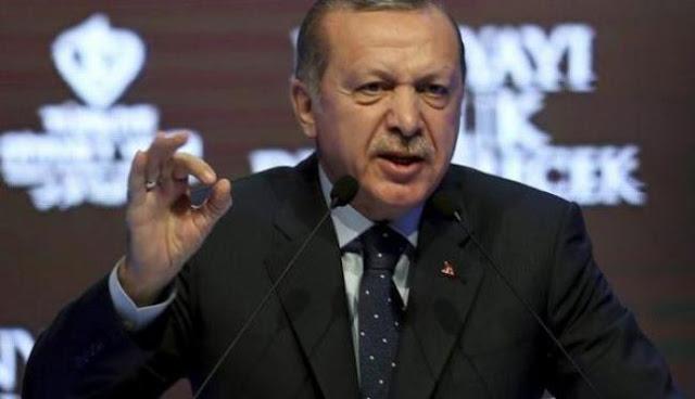 Ερντογάν: Αρχίσατε μια σύγκρουση ανάμεσα στον σταυρό και την ημισέληνο