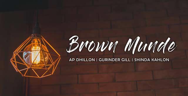 Brown Munde Song Lyrics In English