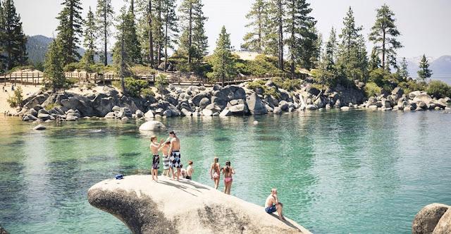 Lake Tahoe no verão