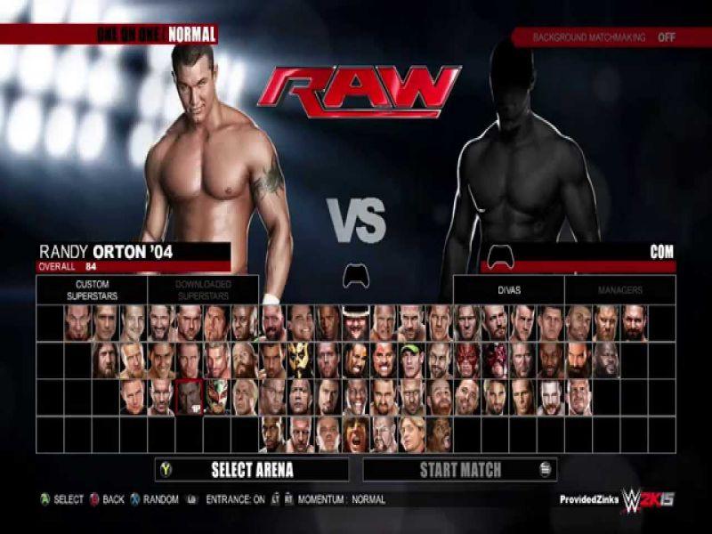 Download WWE 2K15 Game Setup Exe