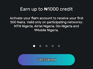 Activate and get free 750mb data from Flaim app