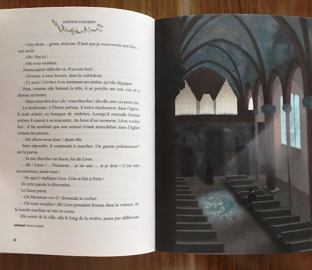 Recenzja #146 - Madame Bovary - przykładowe strony książki - Francuski przy kawie