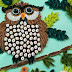 Quilled Bird - Owl sitting on tree