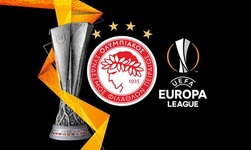 Europe League: Η κλήρωση, το κανάλι - Οι πιθανοί αντίπαλοι του Ολυμπιακού