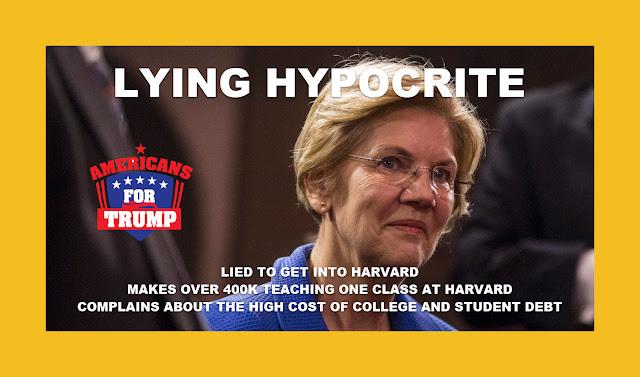 Memes: Elizabeth Warren LYING HYPOCRITE