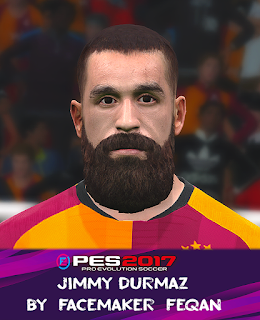 PES 2017 Faces Jimmy Durmaz by Feqan