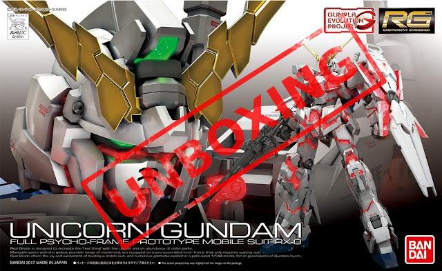 UNBOXING RG Unicorn Gundam en français