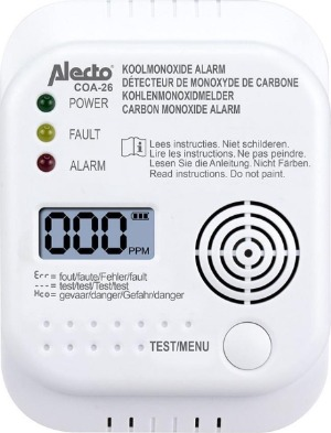 Alecto koolmonoxidemeter