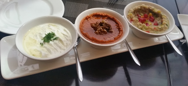 Laboneh, Muhammara and Babaghanoush
