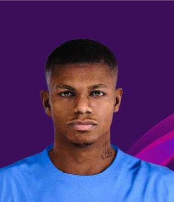 PES 2020 Wesley Moraes Face by Lucas Facemaker