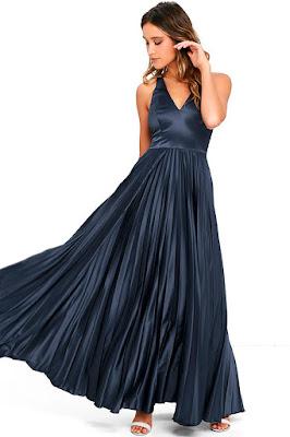 Vestidos de moda para fiesta de noche