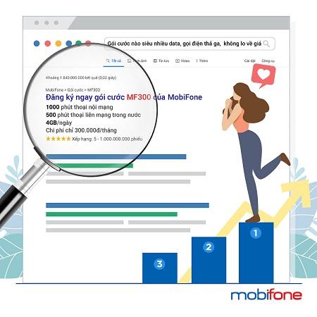 MobiFone giới thiệu gói cước MF300, MF250 hấp dẫn dành cho thuê bao trả sau