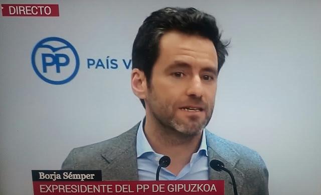 """Borja Sémper se despide de la política : """"El adversario político no es un enemigo, debe haber respeto"""""""