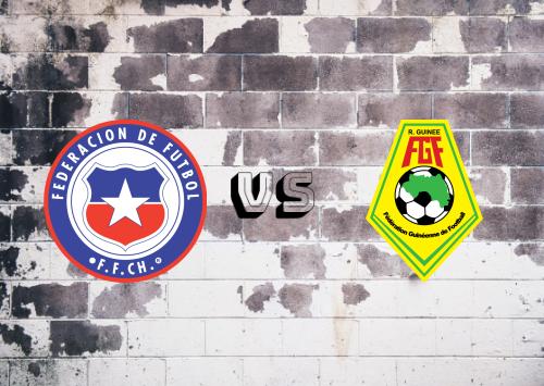 Chile vs Guinea  Resumen