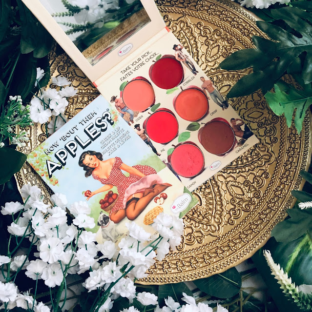 how bout them apples palette de the balm