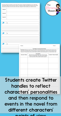 "Forget those boring chapter summaries you usually assign to accompany your students' independent reading. Instead, try out ""tweet sheets."" This activity reinforces characterization and point of view while also allowing students to use their creativity as they explore the characters in their novel."