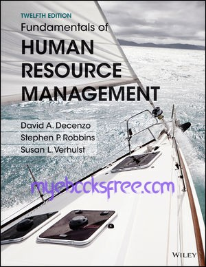 Fundamentals of Human Resource Management Pdf Book 12e by DeCenzo and Robbins