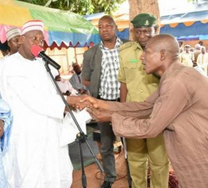 Kano State release 350 inmates prisons