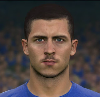 PES 2017 Faces Eden Hazard by Sameh Momen