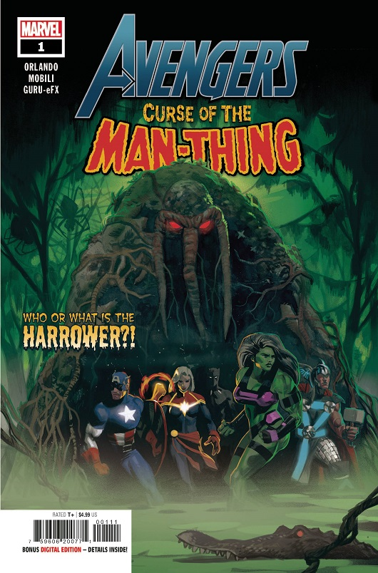 Cover of Avengers: Curse of the Man-Thing #1