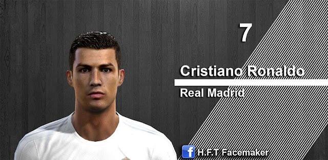 PES 2013 Cristiano Ronaldo Face 2016