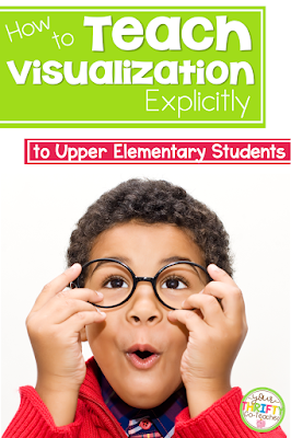 Explicitly teaching visualization to upper elementary students through mini lessons can be extremely beneficial for students who can not create pictures in their mind as they read. Using mentor texts or books they are reading is a simple way to use resources you already have available to teach visualization.